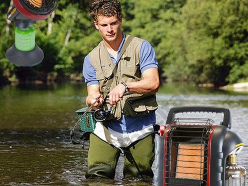 Chauffage Portatif au Gaz pour La Pêche
