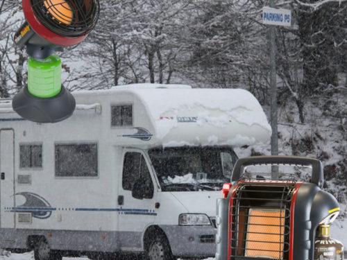 Chauffage Portatif au Gaz pour Camping car et Camping